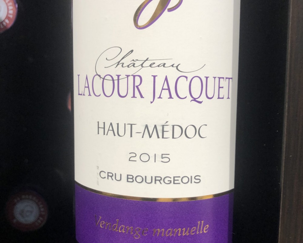 Le Château Lacour Jacquet – Haut-Médoc