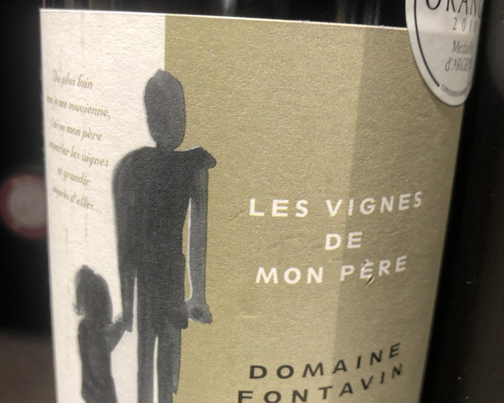 Le Côtes du Rhône de chez Fontavin