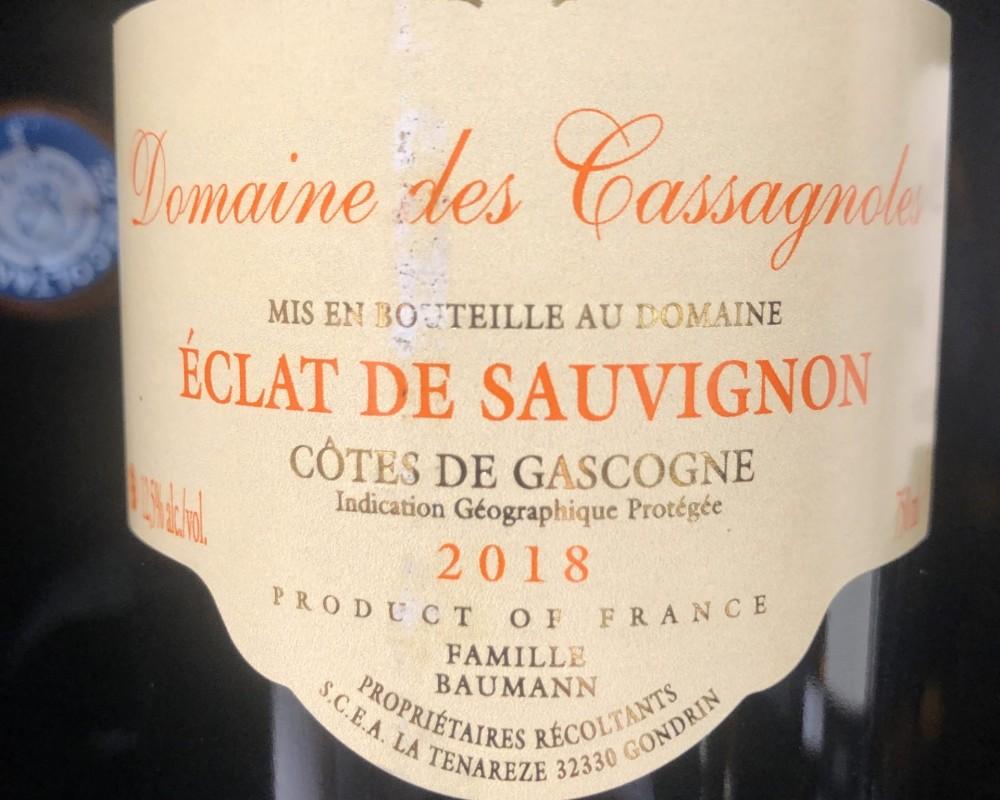 Eclat de Sauvignon – Côtes de Gascogne