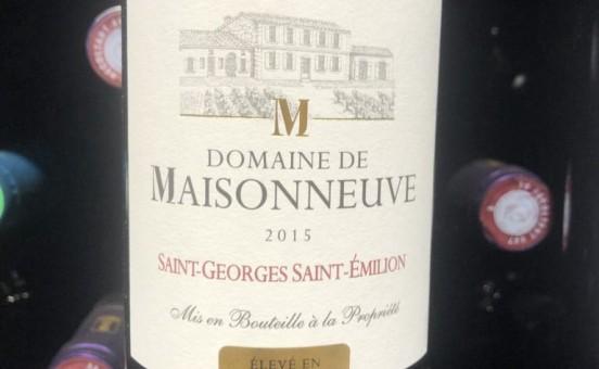 Le Domaine de Maisonneuve – Montagne – Saint – Émilion