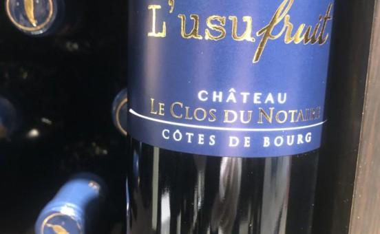 L'Usufruit – Côtes de Bourg